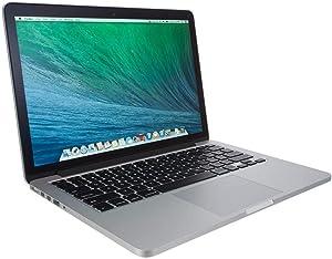 Apple MacBook Pro MC700LL/A Intel core i5- 2.3GHz, 4GB Ram, 256GB SSD - 13.3-Inch Laptop (Renewed)