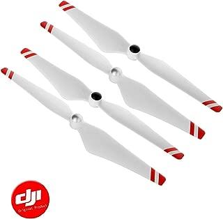 DJI 9450 Self-Tightening Propellers(Metal Hub, Red Stripes) 2 Pairs fit Phantom 2/3, E300/E305/E310, F450/F550 - OEM