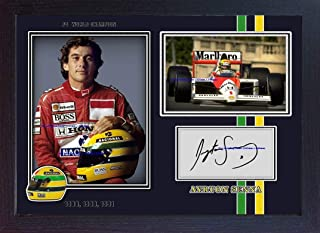 Best ayrton senna signed print Reviews