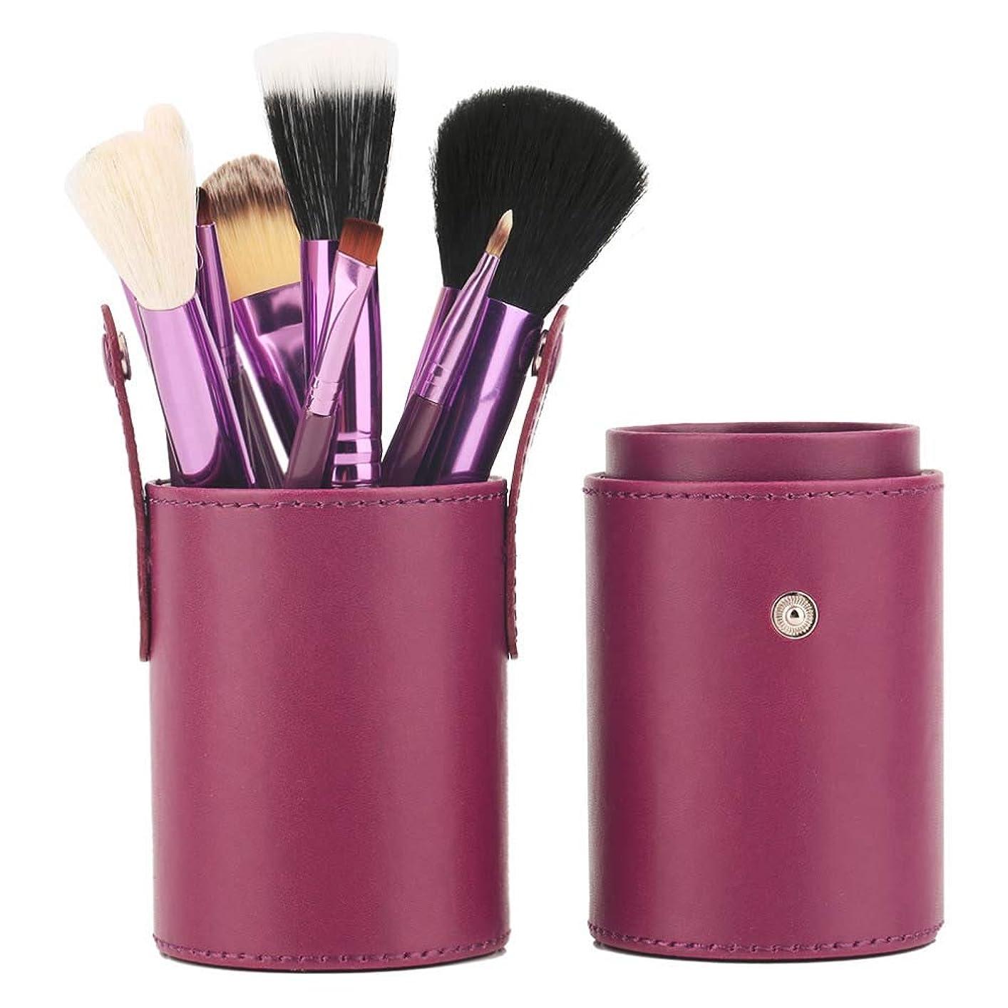 従事するまもなく秘書高品質プロフェッショナル12化粧ブラシセット化粧ブラシ,Purple