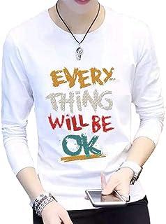 [エスアンドワイ] 5種類 長袖tシャツ ロゴt トップス ロンt カットソー カジュアル メンズ M~2XL