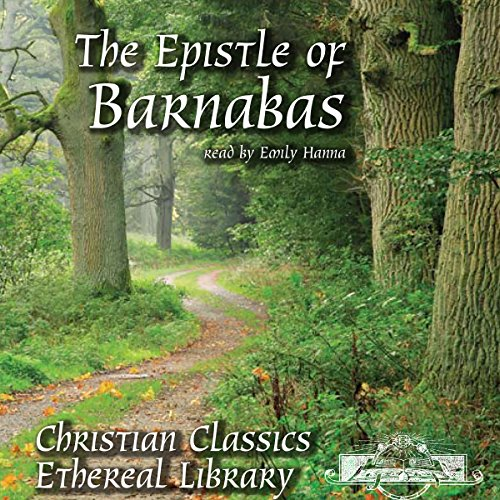 The Epistle of Barnabas audiobook cover art