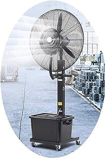 Jyfsa Ventilador Industrial de 3 velocidades Ventilador de fábrica Ventilador de Ventilador de Aire frío Grande Adecuado para Tanque de Agua Comercial de 42L (Tanque de Agua Lavable)
