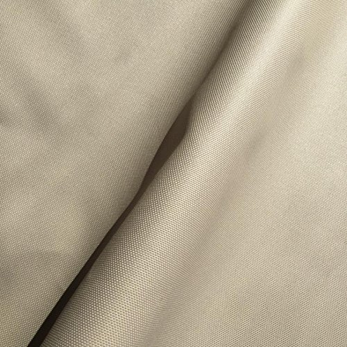 Waterproof Fabric 7OZ 14 Colours. Sold by The Meter. 150cm Wide. Used for Outdoor Camp Hiking Seat Cushion Material Gaiters Tent (Beige)