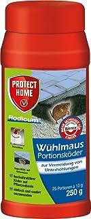 PROTECT HOME Rodicum Wühlmaus Portionsköder (ehem. Bayer Garten Racumin), auslegefertige Köder für Köderboxen mit Wühlmaus...