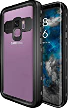 iThrough Galaxy S9 Waterproof Case, Upgraded Shock Proof Dust Proof Snow Proof Dirt Proof Phone Case, Full Sealed IP68 Underwater Heavy Duty Protective Carrying Case Cover for Galaxy S9 (Clear)