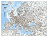 Europa, Classic, politisch, Grossformat, laminiert: 1:5419000: PP.NGC620075 (National Geographic Reference Map)