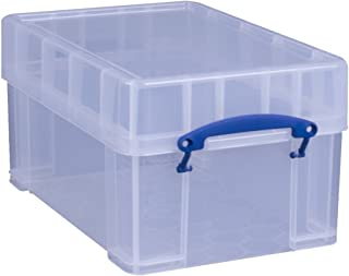 Really Useful Storage Box 9 Litre XL Clear