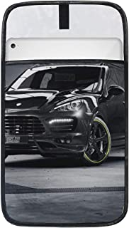 Porsche Cayenne Techart Porsche Tuning SUV Jeep 12 12.9 Inch Ipad Pro Laptop Tablet Protective Case Sleeve Cover Bag for Women Men Girls Boys Kids, Birthday Gifts for Her Him