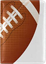 American Football Amazing Passport Holder Cover Case Leather Travel Accessories