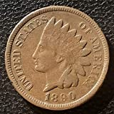 1890 U.S. Indian Head Cent / Penny