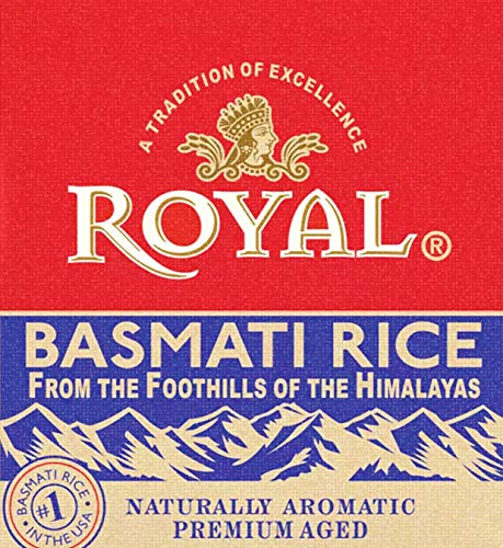 Royal Naturally Aromatic, Premium Aged Basmati Rice, 20 lb Product of India