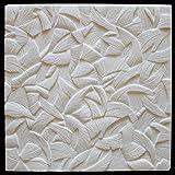 Placas de techo de 1 m², poliestireno expandido, indeformables, Marbet, 50 x 50 cm, zefir blanco