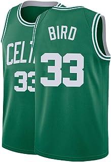 Darlpc Mens Bird Jersey Basketball 33 Adult Athletics Shirts Sports Retro
