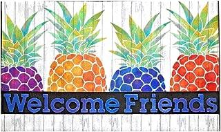 Welcome Friends Pineapple Door Mat 18