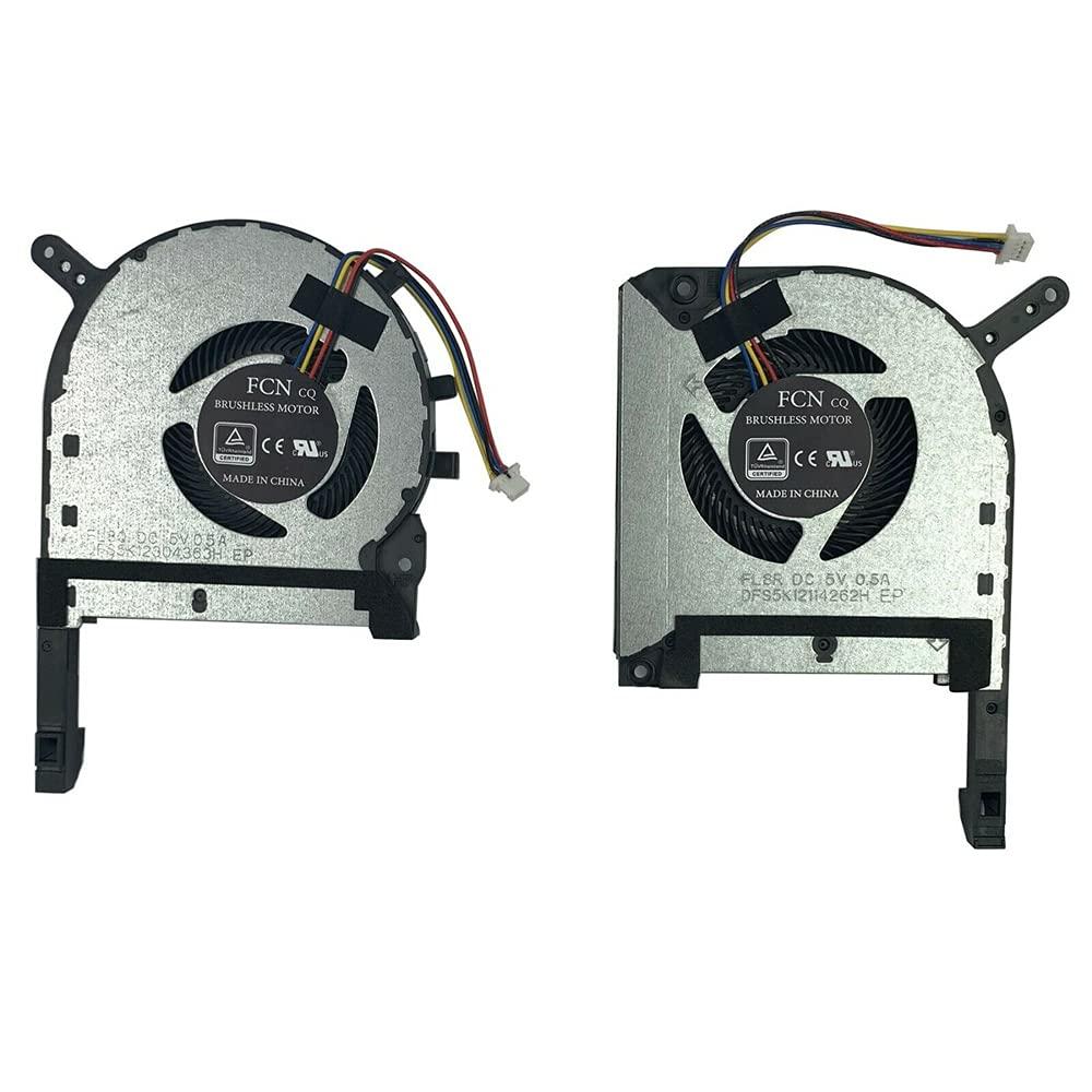 Tenglang - Ventilador de refrigeración de CPU GPU para Asus TUF Gaming FX505 FX505GE FX505GM FX505DT FX705 (CPU + VENTILADOR DE GPU)