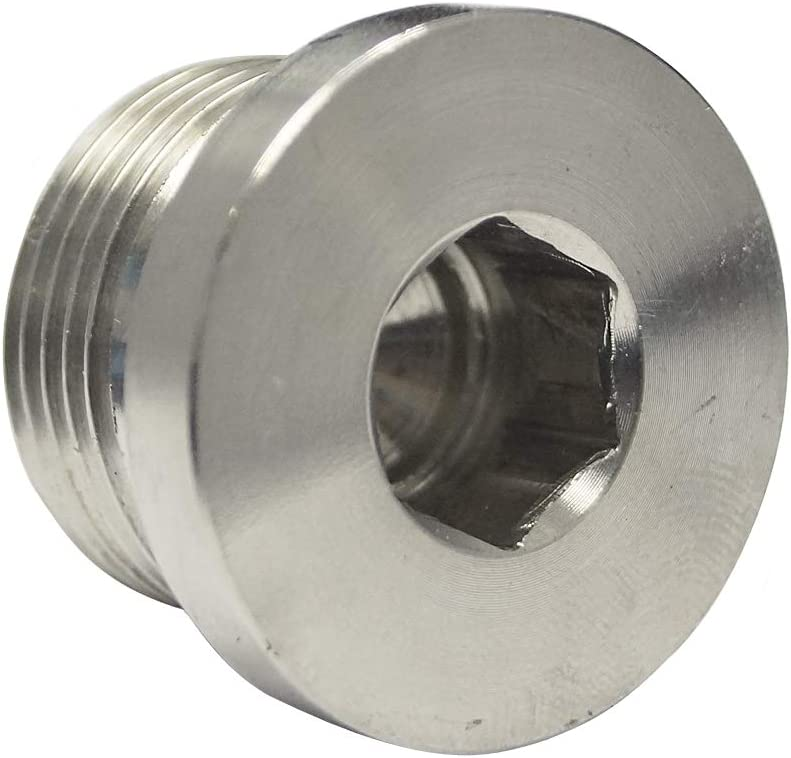 """RFS Stainless Steel 316 Allan Key Head 1 8"""" Male New popularity End OFFicial mail order Plug BSPP"""