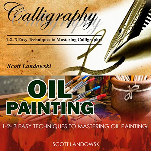 Calligraphy & Oil Painting audiobook cover art