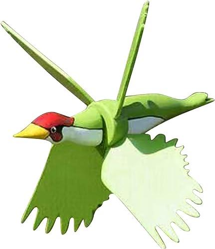high quality OPTIMISTIC Wind Spinners Garden Bird Spinner Pinwheels Decor Garden Sculptures & Statues Bird Stakes Decoration Outdoor Lawn Decorative Yard Decor Patio 2021 Windmills Gardening Art 2021 Bird Decor (Green) online