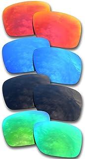 Para Oakley Holbrook Gafas de sol Rojo/Azul/Negro/Verde Lentes de repuesto polarizadas