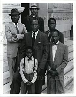 Historic Images - 1991 Press Photo Sidney Poitier portrays Thurgood Marshall in Separate BUT Equal