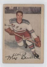 Max Bentley COMC REVIEWED Good to VG-EX (Hockey Card) 1953-54 Parkhurst #55