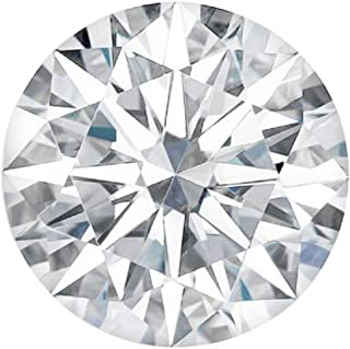 Round Cut Loose Real Moissanite, Use for Pendant/Ring Genuine Near White Color, 1ct to 3ct, Near White, moissanite, Why Pay so high When You get Same Quality for Less,