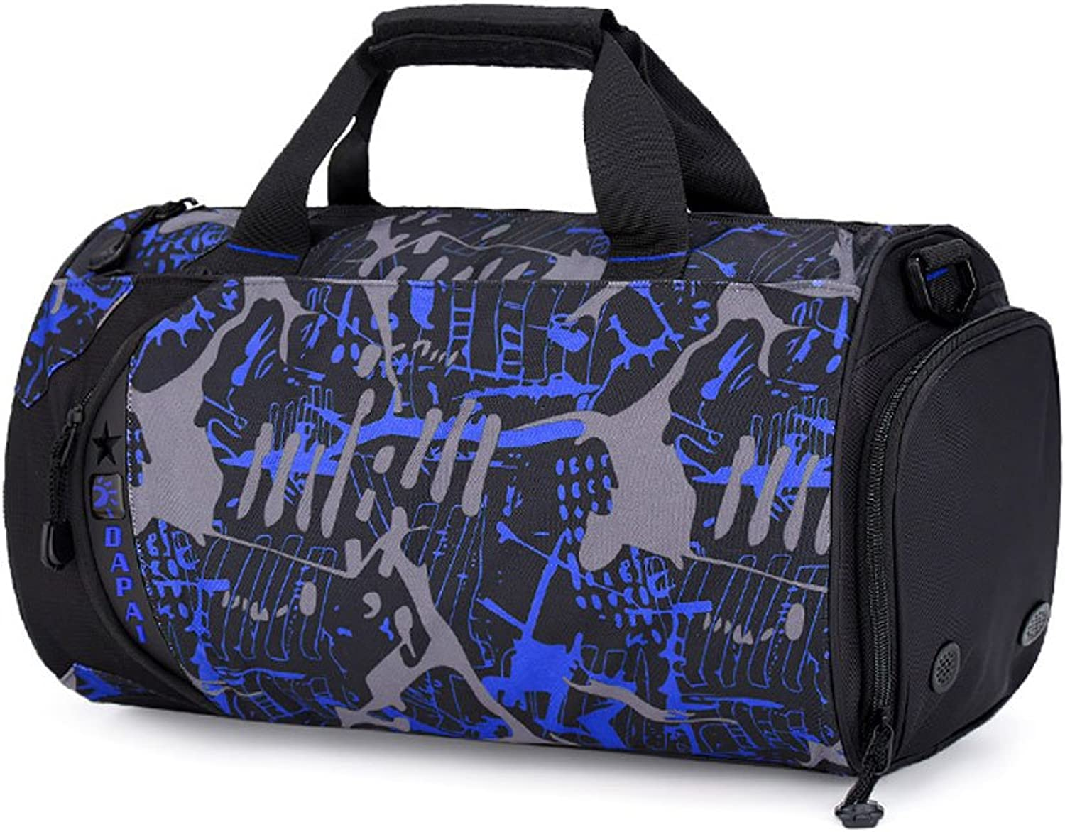 ZOUQILAI Outdoor LargeCapacity Leisure Travel Sports Fitness Oxford Bag Dry and Wet Separation Travel Bag Multicolor Selection
