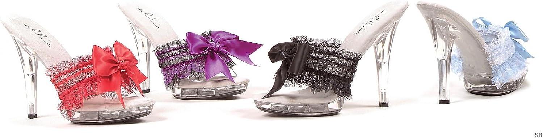 Ellie shoes E-M-Cutie, 5  Heel Sandal. 11 Pink