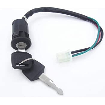 Ignition Switch /& Keys 4 Wire 2 Stage Mini Moto Quad Bike Dirtbike Pocketbike