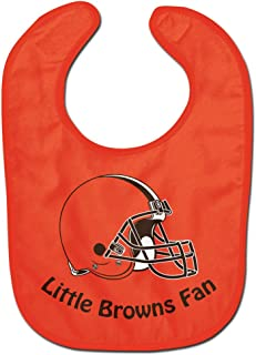 NFL Cleveland Browns Little Fan All Pro Baby Bib