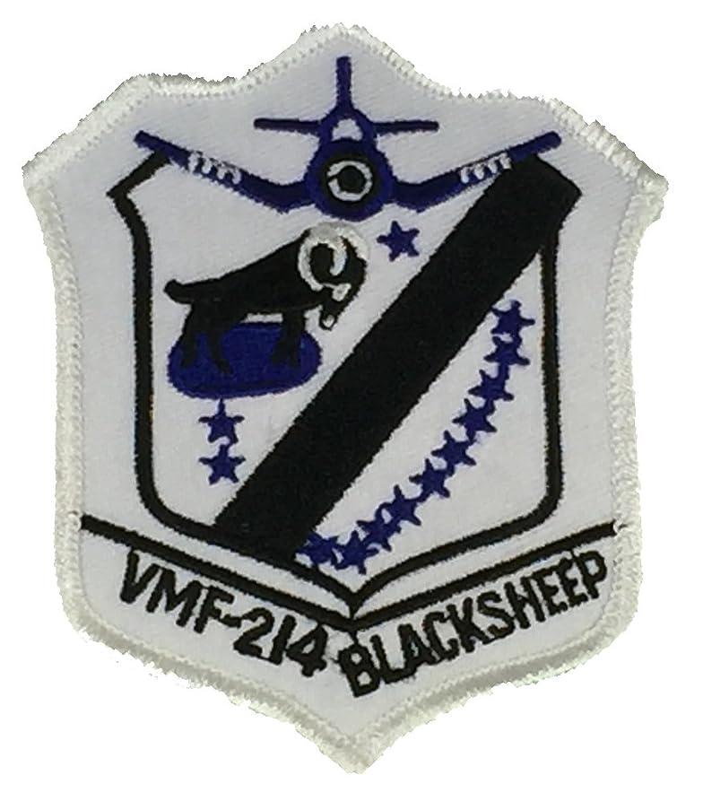USMC VMF-214 BLACK SHEEP UNIT PATCH - COLOR - Veteran Owned Business