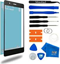 MMOBIEL Front Glass Replacement Compatible with Huawei P9 Lite (Black) Display Touchscreen incl Tool Kit