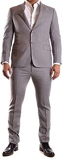 Luxury Fashion Mens UCVGEBUC005605 Grey Suit | Season Permanent