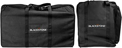 Blackstone Signature Black 1730 Set-600 D Polyester-High Impact Resin Griddle Accessories-Tailgater Combo Carry Bag Set