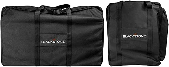 Blackstone Signature Griddle Accessories - Tailgater Combo Carry Bag Set - 600 D Polyester - High Impact Resin - Black