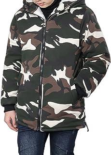 Phorecys子ども ジャケット コート 中綿コート キッズ 防寒 フード付き アウター 男の子 冬 ボーイズ