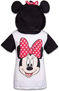 Minnie Mouse Girls Hooded Shirt Minnie Mouse Costume Tee