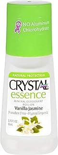 product image for Crystal Essence Mineral Deodorant Roll-On, Vanilla Jasmine 2.25 oz (Pack of 12)