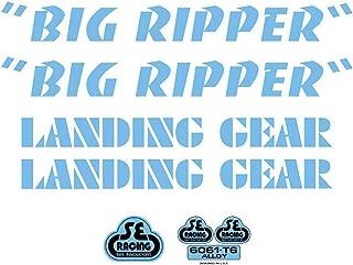 SE Bikes Big Ripper Decal Set