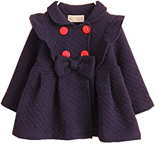 Baby Girl Trench Coat Jacket Spring Autumn Clothes for Babies