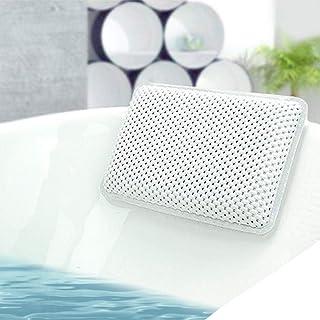 Machine Lavable Classique Blanc Bath Haven Coussin de de Baignoire avec la Technologie 3D de Maille dair