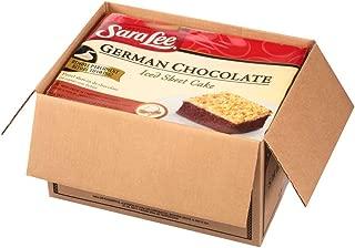 Sara Lee Iced German Chocolate Sheet Cake, 12 x 16 inch -- 4 per case.