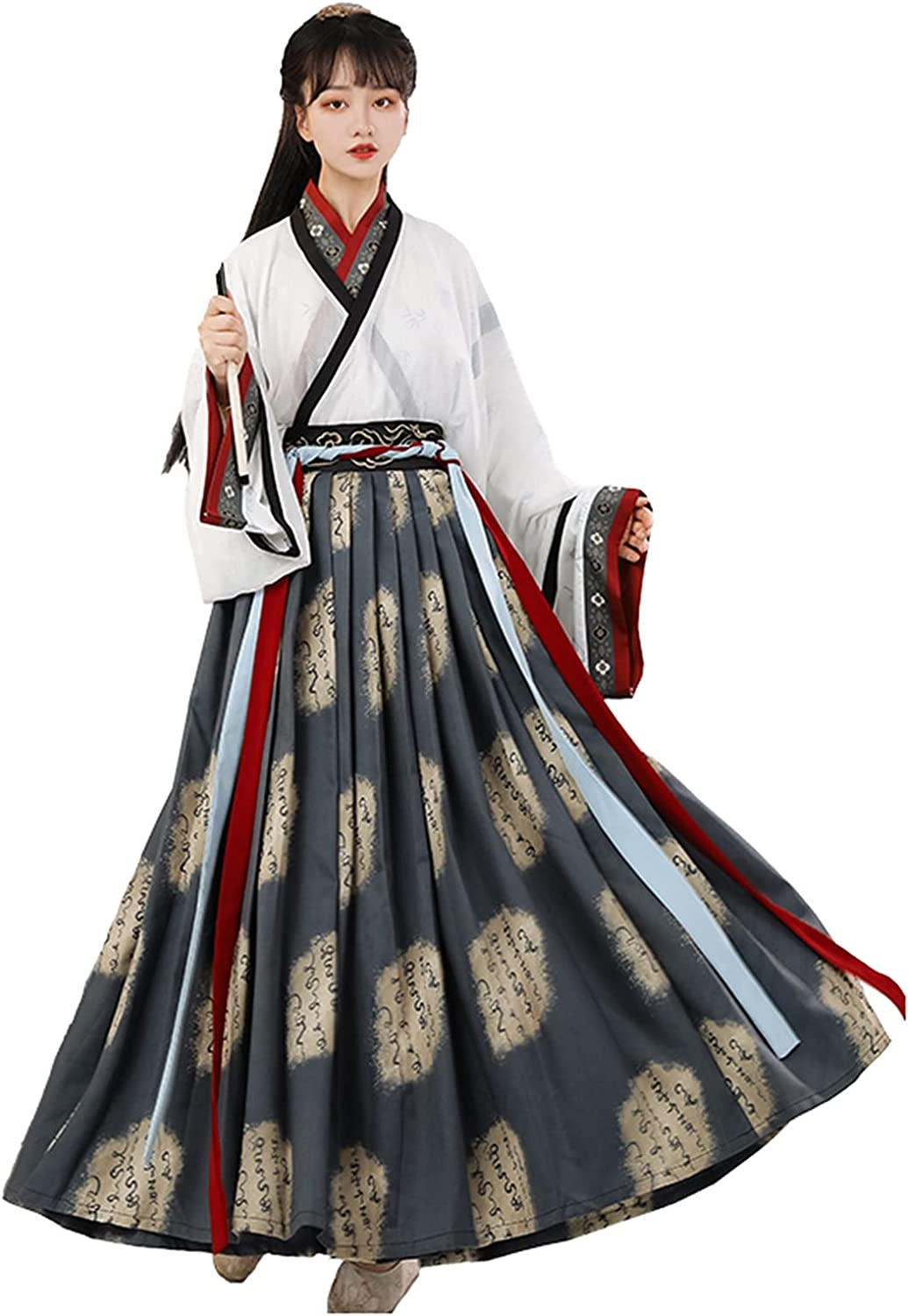 YANLINA Hanfu Chinese Traditional Costume Easy-to-use Garments Embroid 2021 new