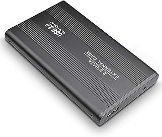 Disco duro externo portátil, 1 TB, 2 TB, USB 3.0, apto para PC, Mac, ordenador de escritorio, portátil, MacBook, Chromebook negro 1 tb