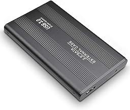 Genéicc - Disco duro externo (1 TB, 2 TB, USB3.0, para PC, Mac, Mac), negro, 1tb