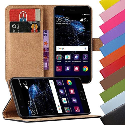 Eximmobile - Book Hülle Handyhülle für Huawei Ascend Y300 mit Kartenfächer in Gelb | Schutzhülle aus Kunstleder | Handytasche als Flip Hülle Cover | Handy Tasche | Etui Hülle Kunstledertasche
