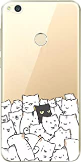 Matop Compatible for Huawei P8 Lite 2017 Case Protective Soft TPU Bumper Shock Absorption Cover Protector Frog Crystal Clear Anti-Scratch Slim Thin for Huawei P8 Lite 2017 Multi-Colored