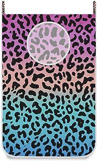 Panier à linge à suspendre Sac à motif léopard rose dégradé Porte / Mur / Placard Suspendu Grand panier à linge pour organ...