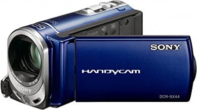 Sony DCR-SX44 Flash memory Handycam Camcorder (Blue) (Discontinued by Manufacturer)